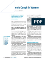 Chronic Cough in Woman