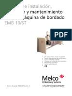 Melco EMB 10-6T-Manual de Instalacion Operacion y Mantenimiento (Castellano)