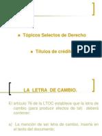 TITULOS DE CRÉDITO SEGUNDA PARTE.