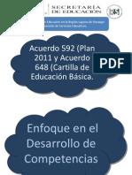 Acuerdo 592 y la Cartilla de Educación Secundaria.ppt