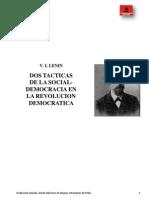 Dos Tacticas Socialdemocracia