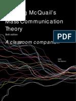 Reading McQuail's Mass Communication Theory