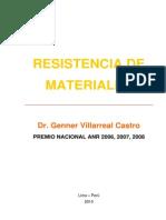 Resistencia de Materiales - Dr. Genner Villarreal Castro