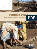 Homestead Gardening 41pages