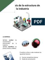 2.5 Analisis de Estructura de La Industria