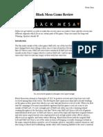 Black Mesa Review