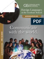 Foreign Languages Capability Brochure
