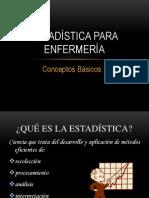 Estadística (Conceptos Básicos)