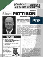 14942818 Biddick and All Saints Newsletter Autumn 2007