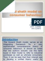 Howard Sheth Model on Consumer Behaviour