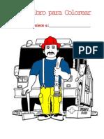 Libro colorear seguridad