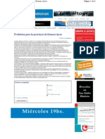 Probation Para La Provincia de Buenos Aires 10-10-06