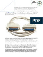 Features of Null Modem Cables