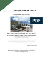 Bases Equipo Mecanico