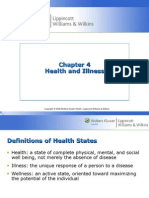 Chapter 4 Health and Illness