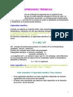 Tema 9. Propiedades Termicas