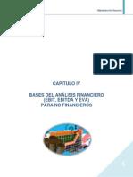 BASES DEL ANÁLISIS FINANCIERO(EBIT, EBITDA Y EVA)PARA NO FINANCIEROS