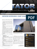 LAPD Reserve Rotator Newsletter Spring 2010