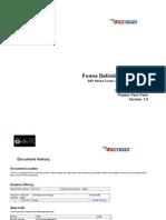 SAP Adobe Forms Credit Debit Memo(MX)