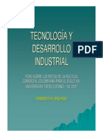 Desarrollo Industrial