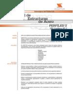 SIDETUR Manual de Estructuras de Acero - Perfiles U