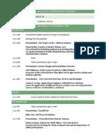 Ausa Fall 2013 Conference Agenda