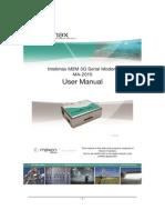 Intelimax M2M HSPA 3G Modems - Maxon