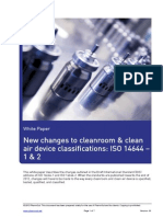 White Paper New Changes to Cleanroom and Clean Air Device Classifications 01