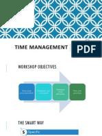 presentation- time management pdf