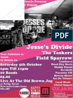 Jesses Divide Oxjam Field Sparrow