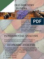 FSA textile industry analysis