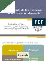 Tratamiento de los trastornos conductuales en demencia.pptx