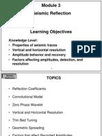 Module 03 Seismic Reflection