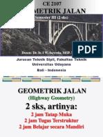 Geometrik Jalan