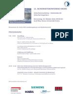 Programm Sicherheitskonferenz Krems SIKO 2013
