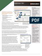 Db Optimizer Xe2 Data Sheet