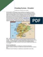 Ultrasonic Cleaning System - Ecuador