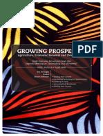 Growing prospertiy