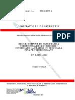 CP_E.04.02-2003  TERMOIZOLAŢIEI EXTERIOARE