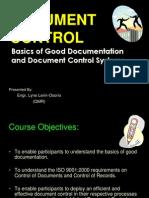 Document Control Training-1