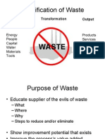 Why Reduce Waste