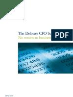 Deloitte Q2 CFO Survey