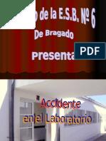 Proyecto Innovador Accidente en el laboratorio