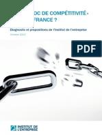 Quel Choc de Competitivite Pour La France