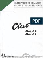 Manuale Officina Piaggio Ciao c7 c9 1967 Opt