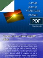 Laser Based Intruder Alarm