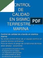Control de Calidad Marina