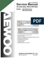 Daewoo Akf-0305 Akf-0315 Sm