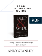 Andy Stanley Deep and Wide Discussion Guide