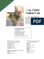 Pattern - Beaded Roses